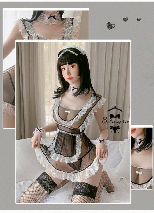 Váy Ngủ Cosplay Hầu Gái