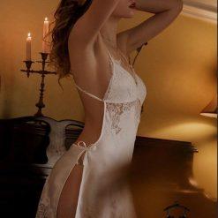Đầm Ngủ Phi Lụa Ngắn