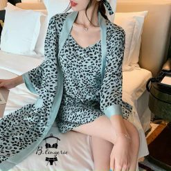 Đầm Ngủ Thun Dễ Thương & Áo Choàng