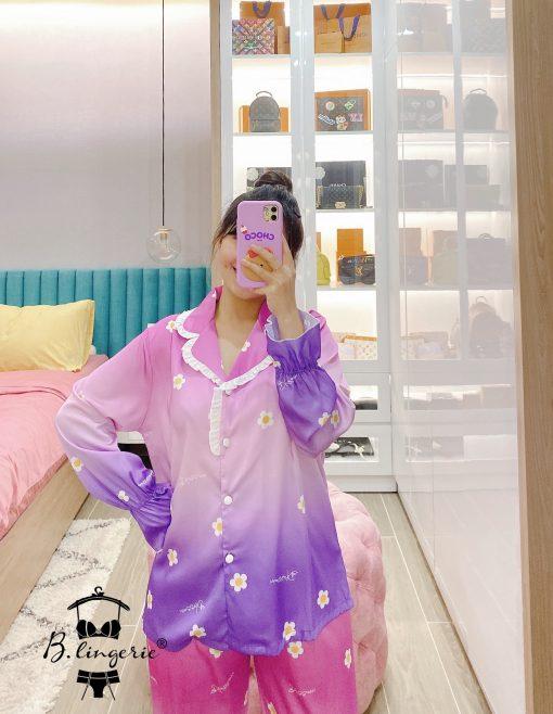 Đồ Pijama Nữ Tay Dài Blingerie