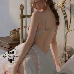 Đầm Ngủ Màu Xanh Cuốn Hút