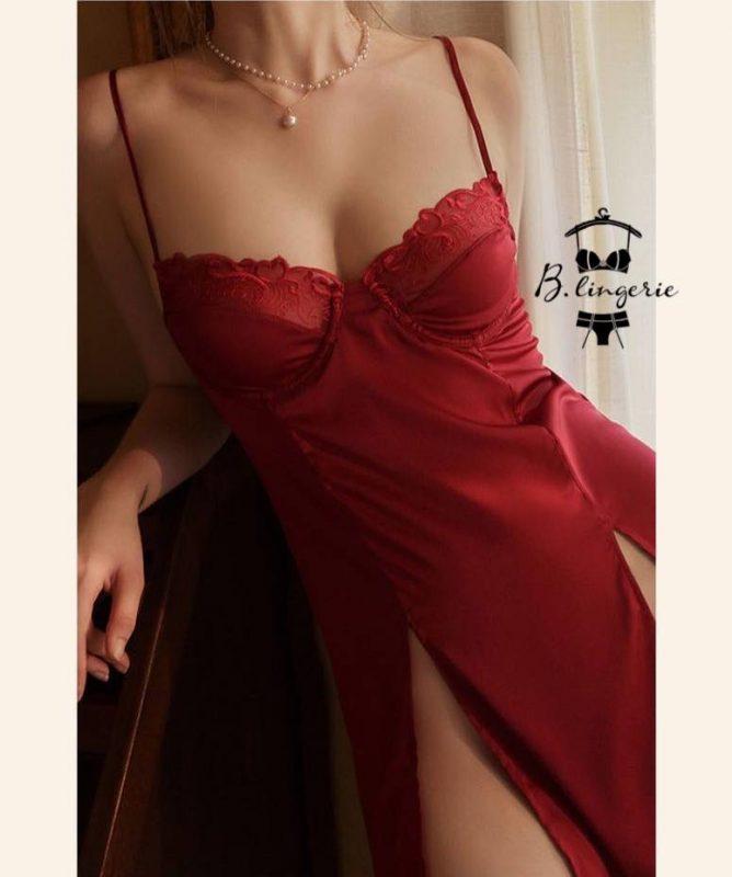 Đầm Ngủ Thun Lạnh Gợi Cảm (1)