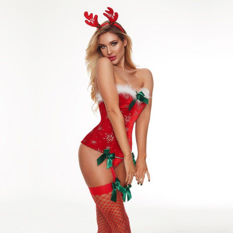 Đồ Ngủ Cosplay Corset Noel