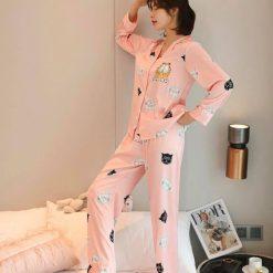Quần Áo Ngủ Pijama Nữ