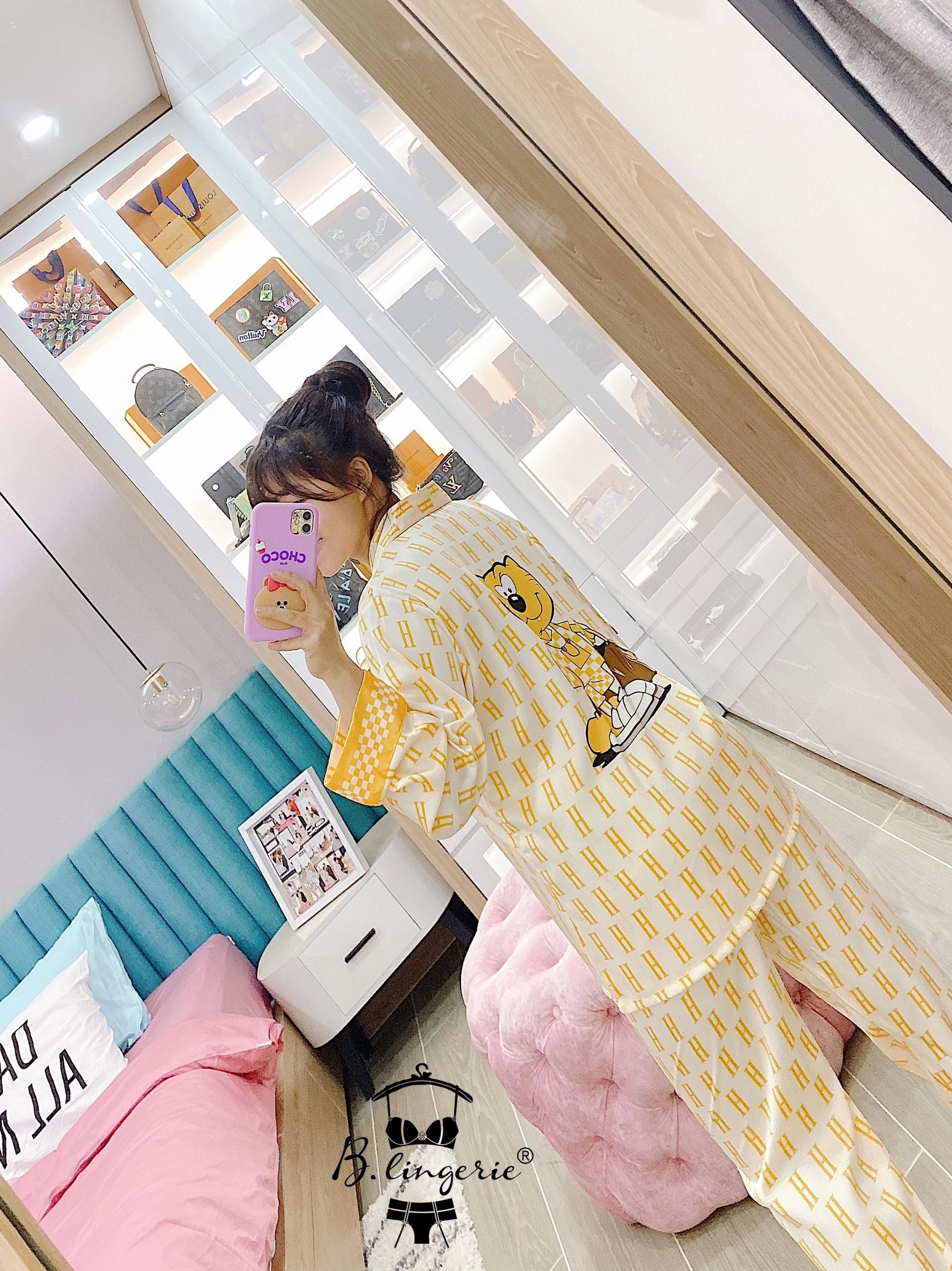 Đồ Mặc Nhà Pijama Dễ Thương Blingerie