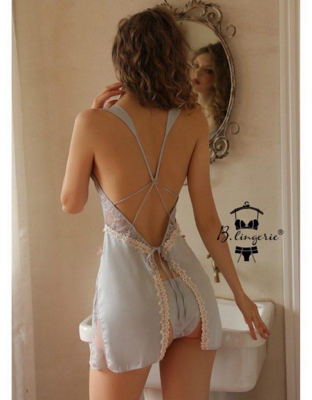 Váy Ngủ Liền Thân Gợi Cảm Blingerie