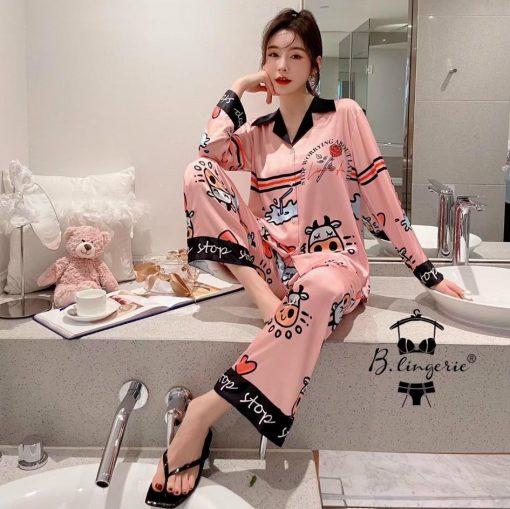 Đồ Bộ Pijama Nữ Mùa Đông Blingerie