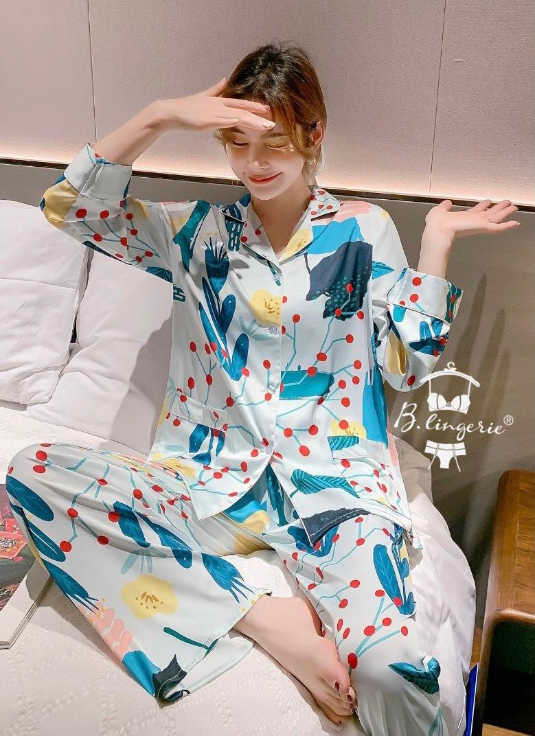 Đồ Bộ Pijama Phi Bóng Blingerie