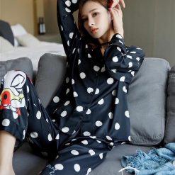 Đồ Ngủ Pijama Lụa Tơ Tằm Blingerie