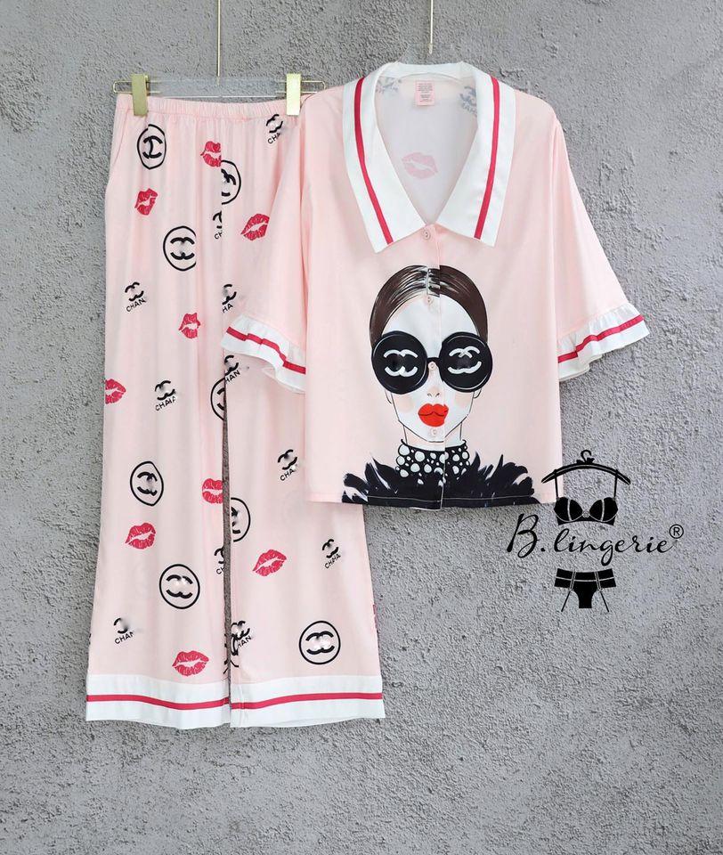 Đồ Ngủ Pyjama Nữ Dài Blingerie