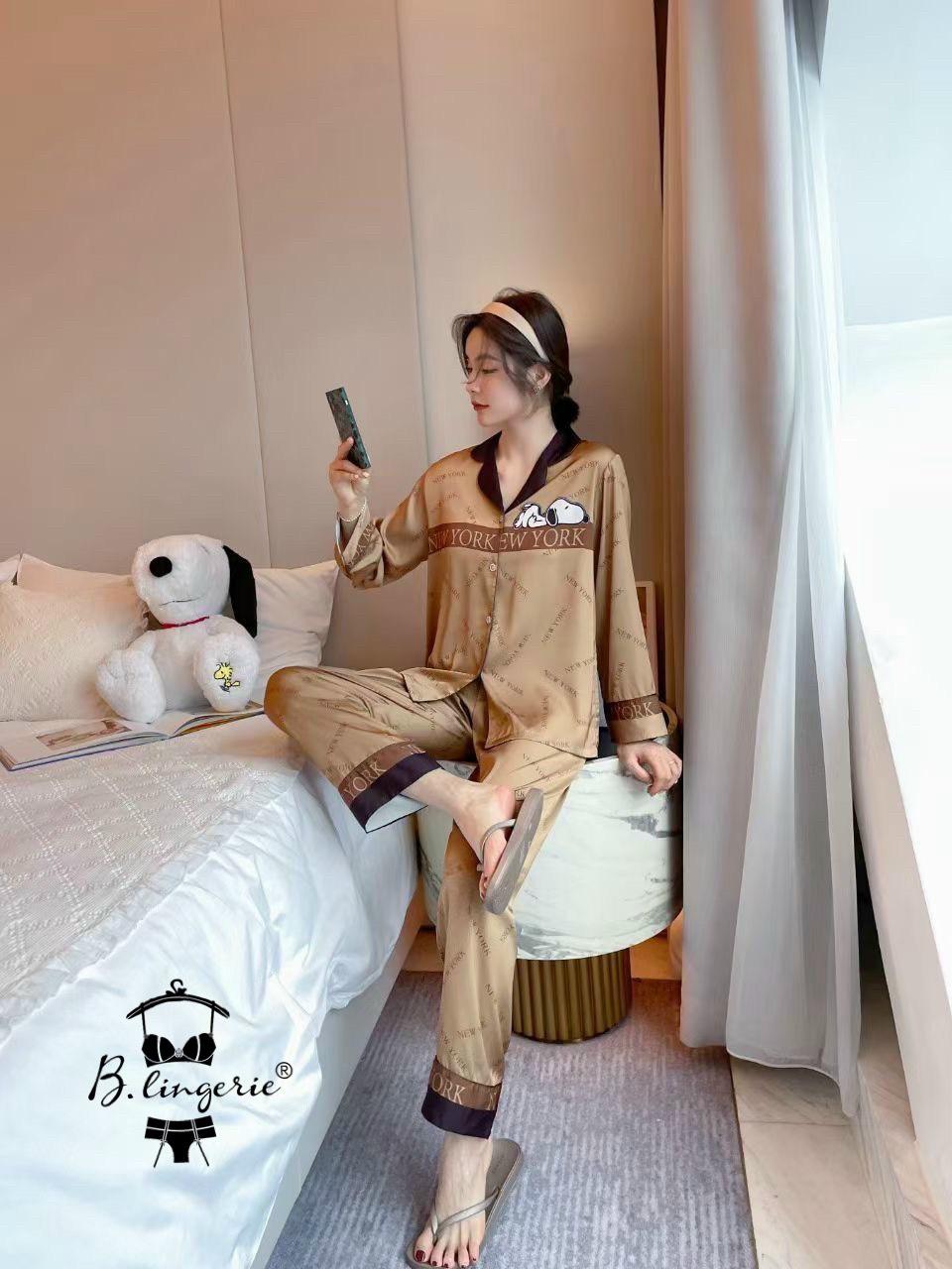 Đồ Bộ Ngủ Pyjama Nữ BLingerie