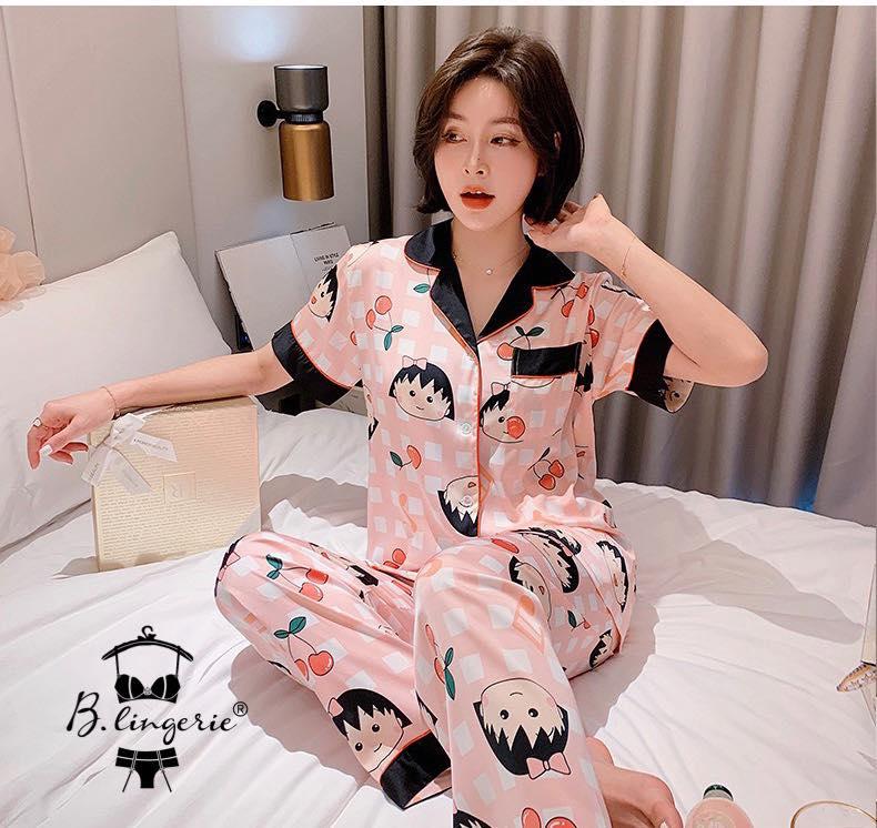 Đồ Ngủ Pijama Nữ Ngắn Tay Blingerie