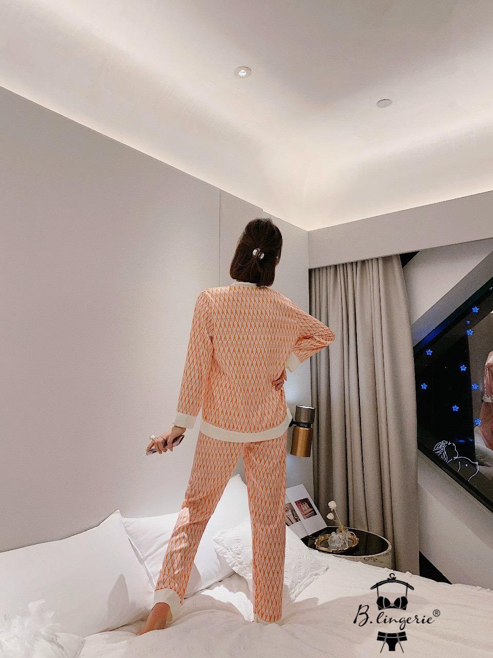 Đồ Pyjama Nữ Tay Dài Blingerie