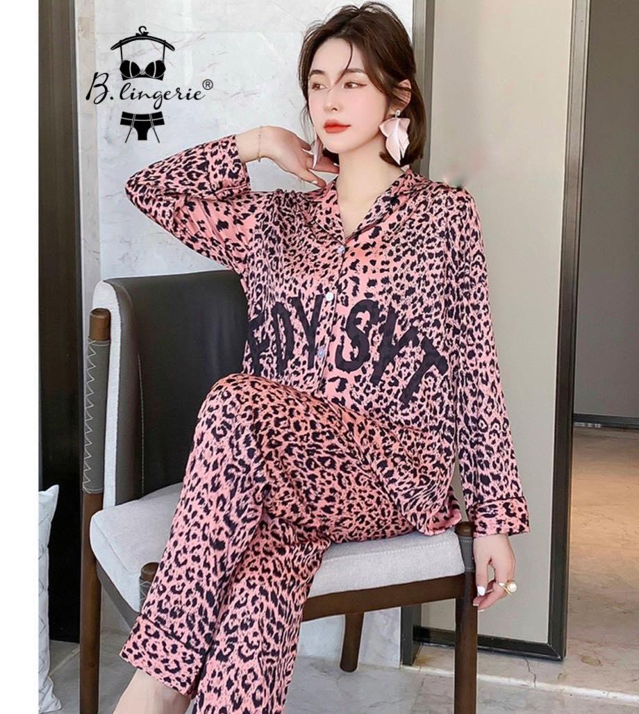 Đồ Bộ Pyjama Nữ Lụa Dài Tay Blingerie (7)