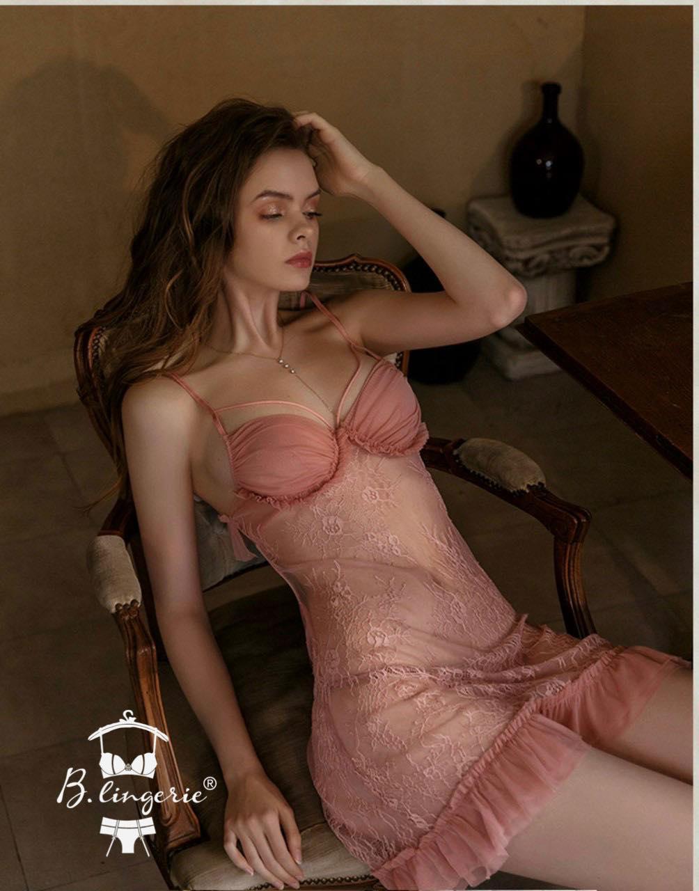 Váy Ngủ 2 Dây Thun Gợi Cảm