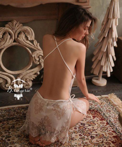 Đầm Ngủ Ren Dễ Thương Blingerie