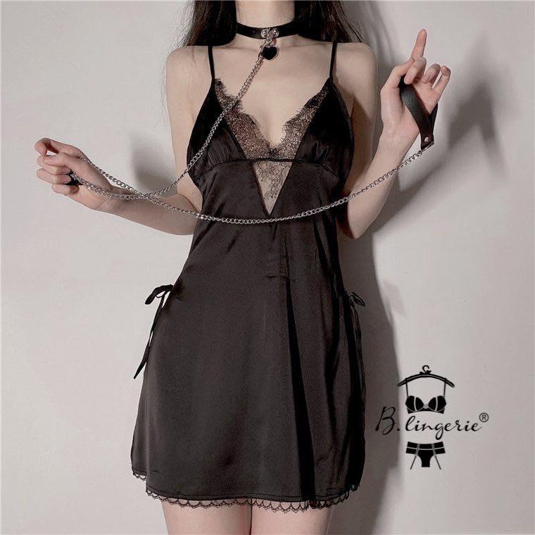 Váy Ngủ Hoa Ren Gợi Cảm Blingerie