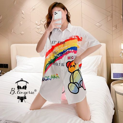 Áo Ngủ Pyjama Nữ