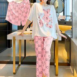 Đồ Ngủ Pijama Cao Cấp 3IN1