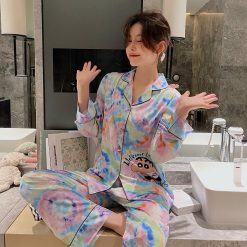Đồ Bộ Pijama Satin Sexy - Blingerie