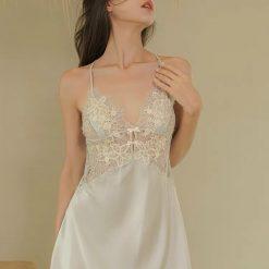Váy Ngủ Ren Tinh Tế - Blingerie